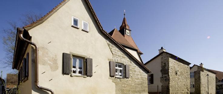Kirchengaden Aussergewohnliche Ferienhauser Bullenheim